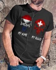 Home Netherlands - Blood Switzerland Classic T-Shirt lifestyle-mens-crewneck-front-4
