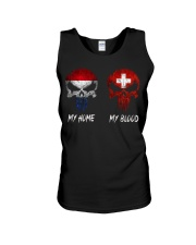 Home Netherlands - Blood Switzerland Unisex Tank thumbnail