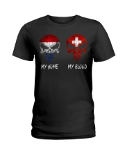 Home Netherlands - Blood Switzerland Ladies T-Shirt thumbnail