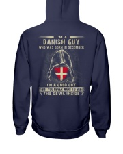 DANISH GUY - 012 Hooded Sweatshirt back