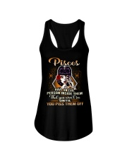 Pisces Girl Ladies Flowy Tank thumbnail