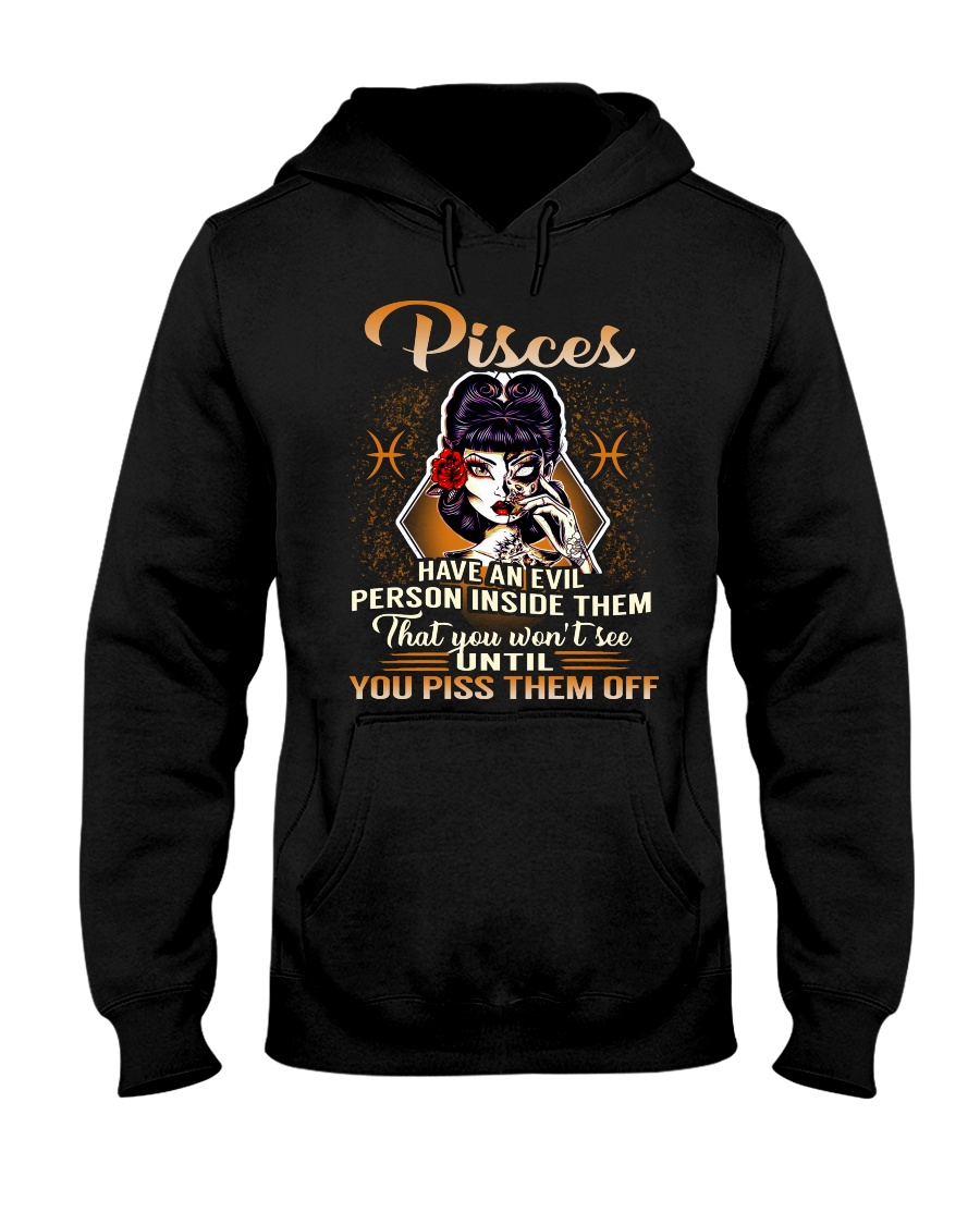 Pisces Girl Hooded Sweatshirt