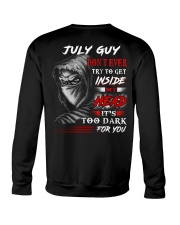 Inside My head - guy-7 Crewneck Sweatshirt thumbnail