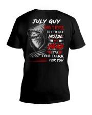 Inside My head - guy-7 V-Neck T-Shirt thumbnail
