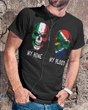 My Home Italy - South Africa Classic T-Shirt lifestyle-mens-crewneck-front-4