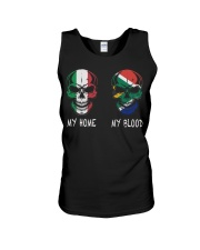 My Home Italy - South Africa Unisex Tank thumbnail