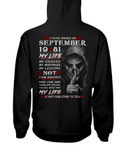 81-9 Hooded Sweatshirt thumbnail