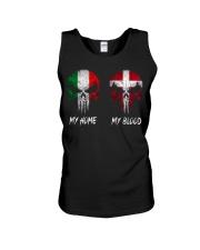 Home Italy - Blood Denmark Unisex Tank thumbnail