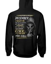 YOU CALL 12 Hooded Sweatshirt back