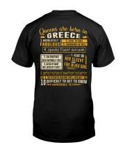 Queens Greece Classic T-Shirt thumbnail