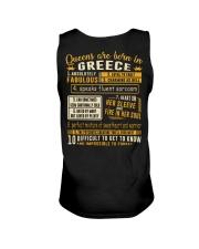 Queens Greece Unisex Tank thumbnail