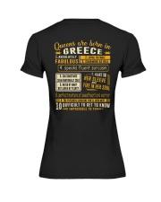 Queens Greece Premium Fit Ladies Tee thumbnail