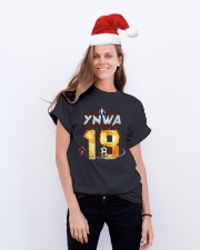 YNWA FRONT Classic T-Shirt lifestyle-holiday-crewneck-front-1