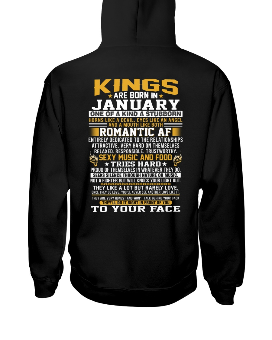 KINGS 1 Hooded Sweatshirt