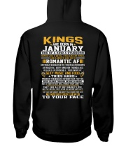 KINGS 1 Hooded Sweatshirt back