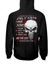 1970-7 Hooded Sweatshirt back