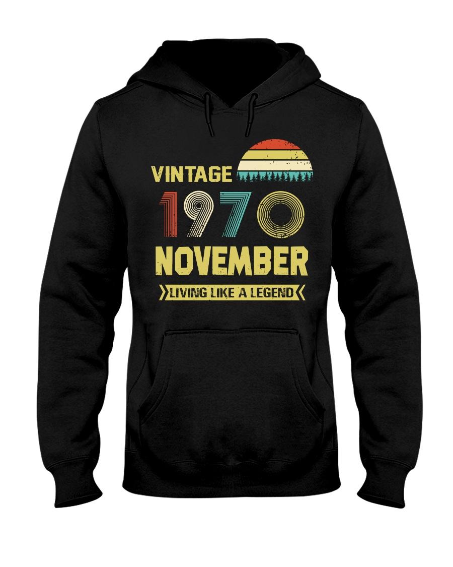 LIVING 70 11 Hooded Sweatshirt