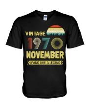 LIVING 70 11 V-Neck T-Shirt thumbnail