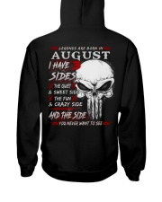 3 SIDE NEW 8 Hooded Sweatshirt back