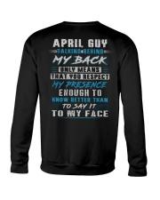 MY BACK 4 Crewneck Sweatshirt thumbnail