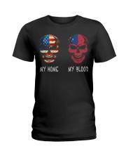 My Blood - Samoa Ladies T-Shirt thumbnail