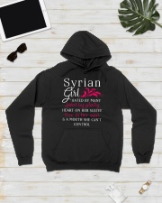 Syrian Girl Hooded Sweatshirt lifestyle-unisex-hoodie-front-8