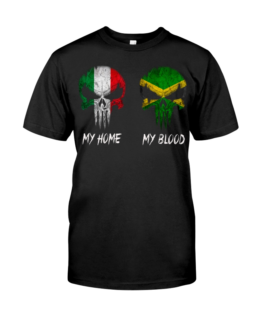 Home Italy - Blood Jamaica Classic T-Shirt