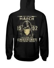 GOOD GUY 1992-3 Hooded Sweatshirt back
