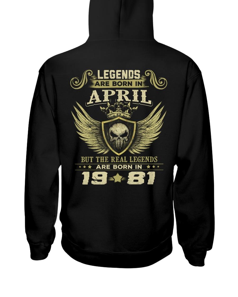 LEGENDS  81-4 Hooded Sweatshirt