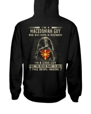 MACEDONIAN GUY - 012 Hooded Sweatshirt thumbnail