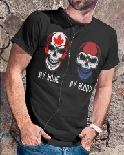 My Home Canada - Netherlands Classic T-Shirt lifestyle-mens-crewneck-front-4