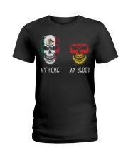 My Home Mexico - Germany Ladies T-Shirt thumbnail