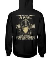 GOOD GUY 00-4 Hooded Sweatshirt back