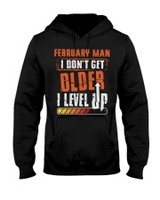 LEVEL UP 2 Hooded Sweatshirt front