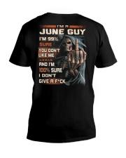 GUY SURE 6 V-Neck T-Shirt thumbnail