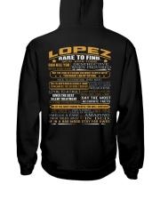 LOPEZ Hooded Sweatshirt back