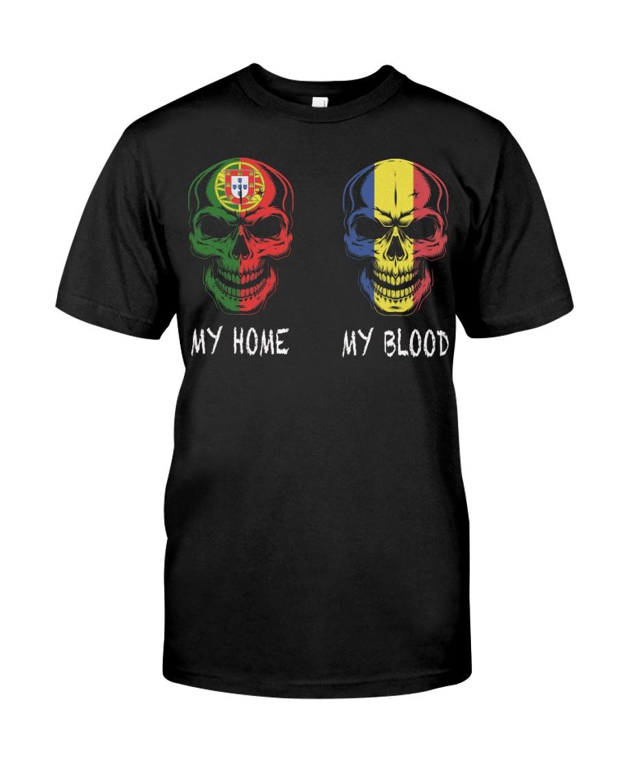 My Home Portugal - Romania Classic T-Shirt