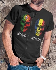 My Home Portugal - Romania Classic T-Shirt lifestyle-mens-crewneck-front-4