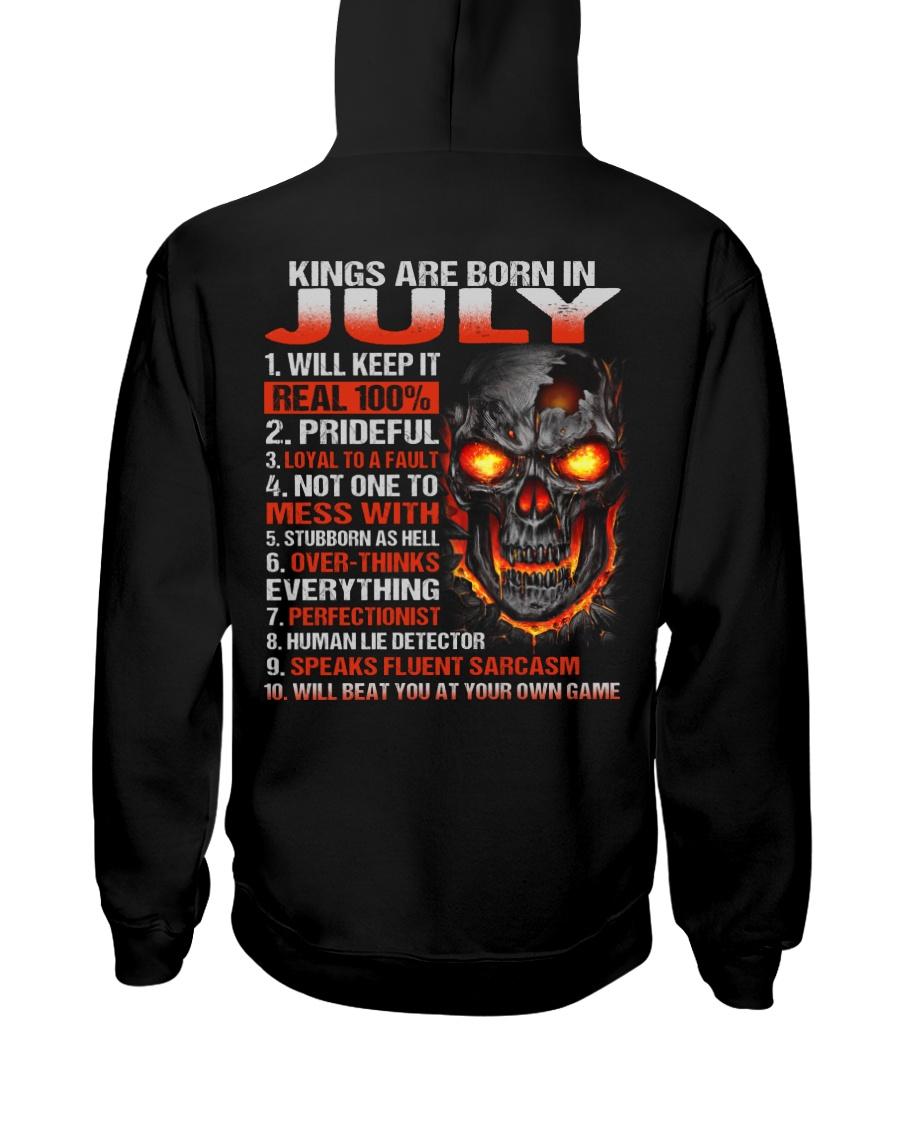 KING REAL 7 Hooded Sweatshirt