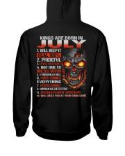 KING REAL 7 Hooded Sweatshirt back