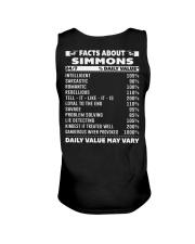 SIMMONS Unisex Tank thumbnail