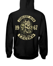 MAN 67-1 Hooded Sweatshirt back