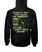 MY DARKEST 8 Hooded Sweatshirt back