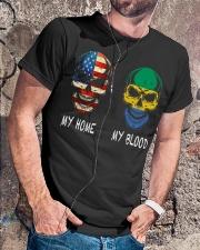 My Blood - Gabon Classic T-Shirt lifestyle-mens-crewneck-front-4