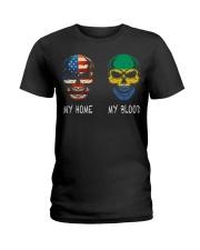 My Blood - Gabon Ladies T-Shirt thumbnail