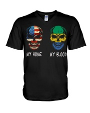 My Blood - Gabon V-Neck T-Shirt thumbnail