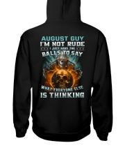 BALLS 8 Hooded Sweatshirt back