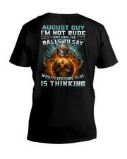 BALLS 8 V-Neck T-Shirt thumbnail