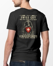 SWISS GUY - 010 Classic T-Shirt lifestyle-mens-crewneck-back-5