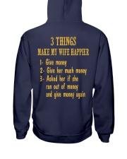 WIFE HAPPIER 02 Hooded Sweatshirt back